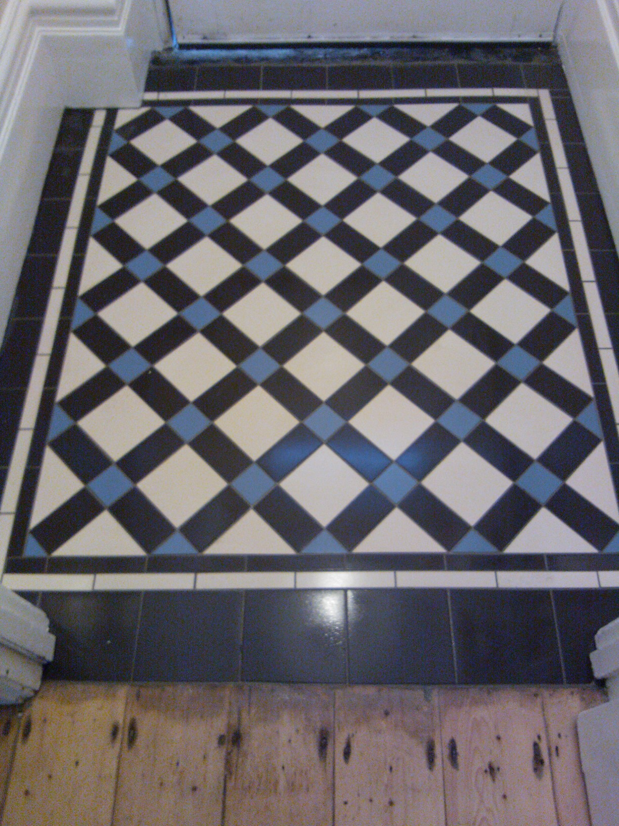 Victorian tiles for floors and walls in our bristol showroom 219 gloucester road bishopston bristol doublecrazyfo Images